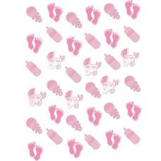 Amscan hangdecoratie meisje 210 cm roze