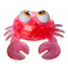 Bubblez animalz squishy mega krab 12 cm rood