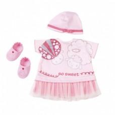 Baby Annabell Kledingset zomer roze 4-delig
