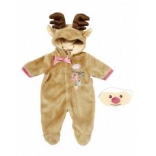 Baby Annabell rendierpak bruin geschikt voor pop tot 46 cm