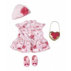 Baby Annabell kledingset Deluxe voor pop tot 43 cm roze 4-delig