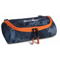 Bestway etui jeansblauw/oranje 22 x 11 x 7 cm