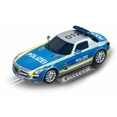 Carrera Digital 132 racebaanauto Mercedes SLS AMG 1:32 blauw