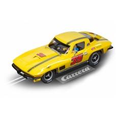 Carrera Digital 132 racebaanauto Chevrolet Corvette 1:32 geel