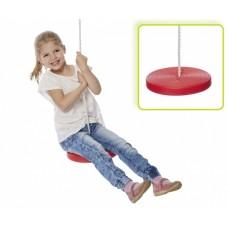 Happy People kunststof schotelschommel rood 28,5 cm