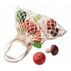 Haba Biofino boodschappennet 10-delig met groenten 20 cm
