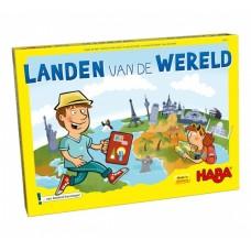 Haba bordspel Landen van de Wereld 70-delig NL