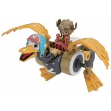 Bandai Hobby Mecha bouwpakket Chopper Roboter Wing oker/grijs