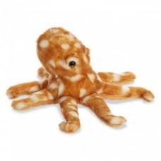 Aurora knuffel Mini Flopsie atlantische octopus 20,5 cm bruin