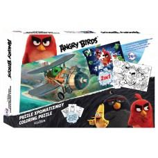 Angry Birds 2-zijdige puzzel Angry Birds 24 stukjes
