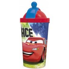 Diakakis drinkbeker met rietje Cars 450 ml