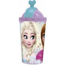 Diakakis drinkbeker met rietje Frozen 450 ml