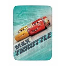 House of Kids vloerkleed Cars max throttle 70 x 95 cm groen
