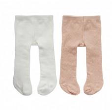 byAstrup maillots roze/wit voor pop van 45 cm 2 stuks