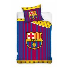 Carbotex Dekbedovertrek FC Barcelona - logo klein 140 x 200 cm