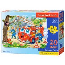 Castorland legpuzzel Fire Brigade Maxi 20 stukjes