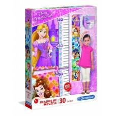 Clementoni legpuzzel Disney Princess Measure Me 30 stukjes