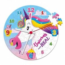Clementoni klokpuzzel i believe in unicorns 96 stukjes
