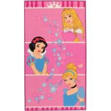 Disney vloerkleed Princess Crown 140 x 80 cm
