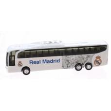 Real Madrid spelersbus 15 cm wit