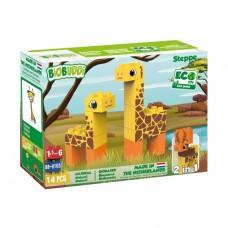 BiOBUDDi bouwpakket Wildlife steppe 14-delig (BB-0103)