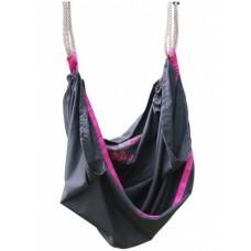 EXIT SwingBag 142 cm zwart/roze