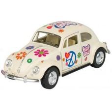 Goki Volkswagen Classic Beetle (1967) 13 cm wit