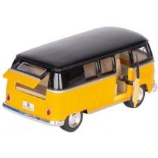 Goki Volkswagen Classic Bus Geel / Zwart (1962) 13 cm