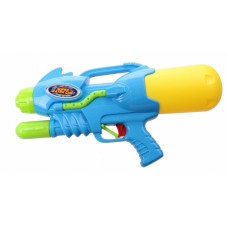 Kids Fun waterpistool Super Watergun 42 cm blauw/geel