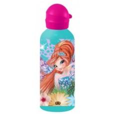 Diakakis drinkfles Winx Club meisjes 500 ml roze/mintgroen