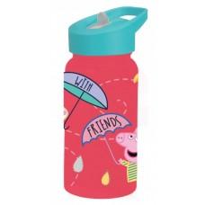 Diakakis drinkfles Peppa Pig junior 500 ml roze/mintgroen