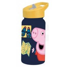 Diakakis drinkfles Peppa Pig junior 500 ml donkerblauw/geel