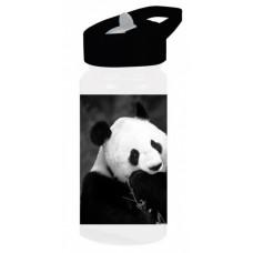 Diakakis drinkfles Animal Planet panda junior 500 ml zwart