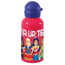 Diakakis drinkfles aluminium Super Hero Girls 500 ml rood