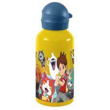 Diakakis drinkfles aluminium Yo-Kai Watch 500 ml geel/blauw