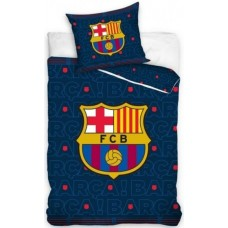 Carbotex Dekbedovertrek FC Barcelona - d.blauw 160 x 200 cm