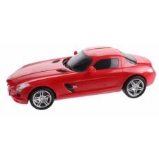 Gearbox raceauto Mercedes Benz SLS R/C 25 cm 1:16 rood