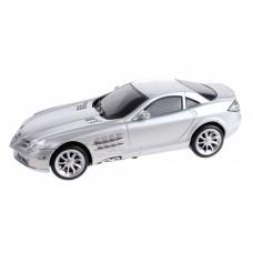 Gearbox raceauto Mercedes Benz SLR R/C 25 cm 1:16 zilver