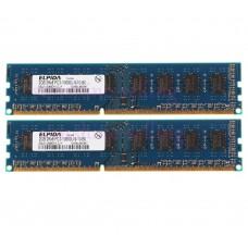 ELPIDA 2GB 2Rx8 PC3-10600U-9-10-B0 (DDR3 1333MHz)